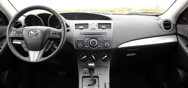 2012 Mazda3 SkyActiv interior