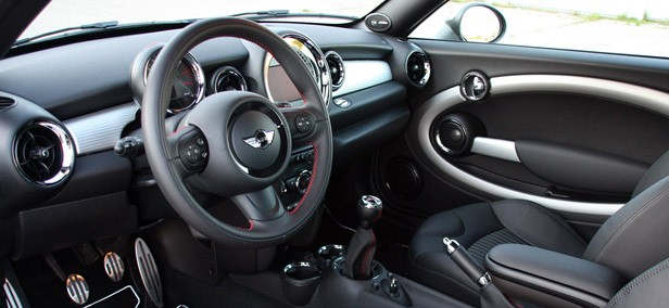 2012 Mini John Cooper Works Coupe interior