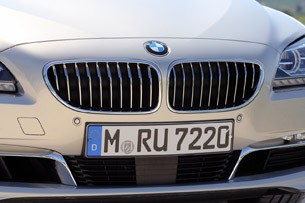 2013 BMW 6 Series Gran Coupe grille
