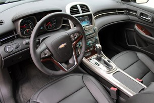 2013 Chevrolet Malibu Eco interior