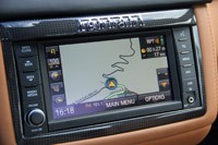 2013 Ferrari California navigation system