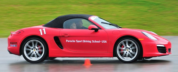 2013 Porsche Boxster S driving