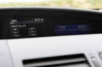 2012 Mazda3 SkyActiv audio system display
