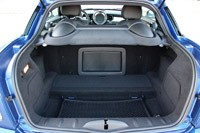 2012 Mini John Cooper Works Coupe rear cargo area