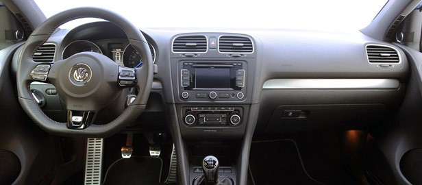 2012 Volkswagen Golf R interior