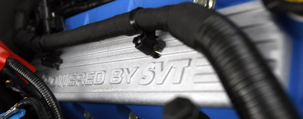 2013 Ford Shelby GT500 engine detail