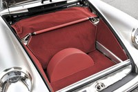 Porsche 911 Restored by Singer front cargo area