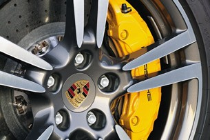 2012 Porsche Panamera Turbo S wheel detail