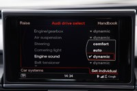 2013 Audi S6 settings display