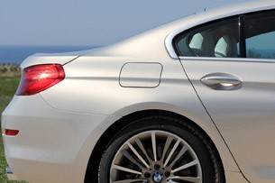 2013 BMW 6 Series Gran Coupe rear fender