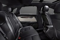 2013 Cadillac XTS rear seats