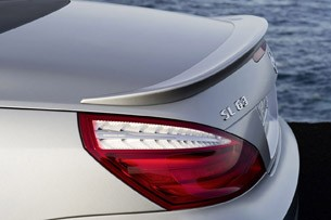 2013 Mercedes-Benz SL63 AMG rear spoiler