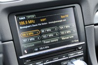 2013 Porsche Boxster S audio system display