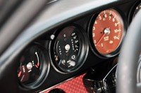Porsche 911 Restored by Singer gauges