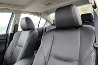 2012 Mazda3 SkyActiv front seats