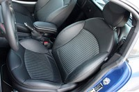 2012 Mini John Cooper Works Coupe seats