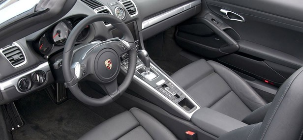 2013 Porsche Boxster S interior