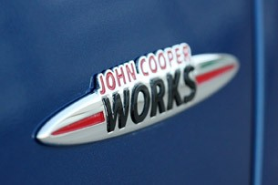 2012 Mini John Cooper Works Coupe badge