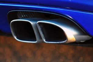 2012 Porsche Panamera Turbo S exhaust tips