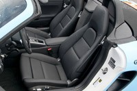 2013 Porsche Boxster S seats