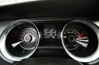 2013 Ford Shelby GT500 gauges