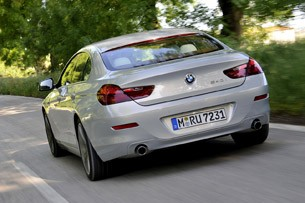 2013 BMW 6 Series Gran Coupe driving