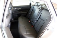 2013 Nissan Altima rear seats