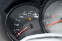 2013 Porsche Boxster S speedometer