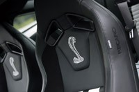 2013 Ford Shelby GT500 Recaro seats