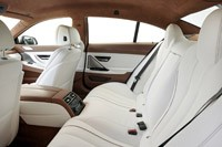 2013 BMW 6 Series Gran Coupe rear seats