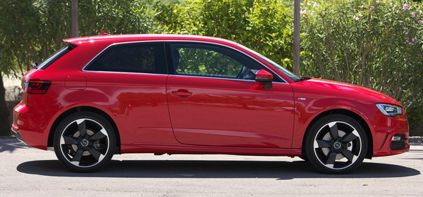 2013 Audi A3 side view
