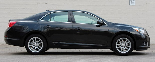 2013 Chevrolet Malibu Eco side view