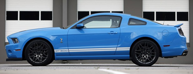 2013 Ford Shelby GT500 side view