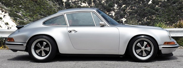 Porsche 911 Restored by Singer side view