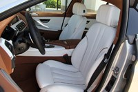 2013 BMW 6 Series Gran Coupe front seats