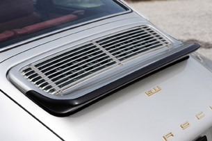 Porsche 911 Restored by Singer rear spoiler