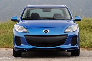 2012 Mazda3 SkyActiv front view