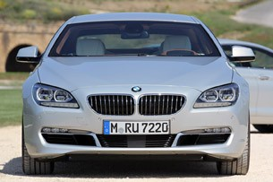 2013 BMW 6 Series Gran Coupe front view
