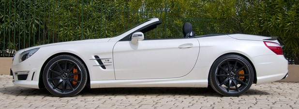 2013 Mercedes-Benz SL63 AMG side view