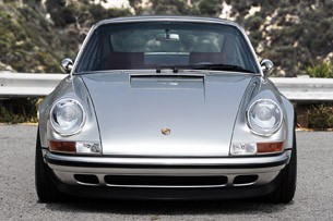 Porsche 911 Restored by Singer front view