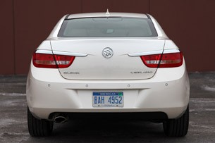 2012 Buick Verano rear view