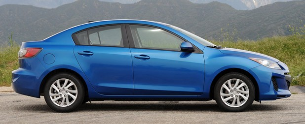 2012 Mazda3 SkyActiv side view