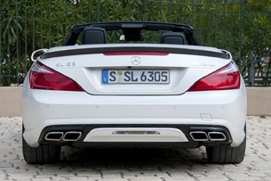 2013 Mercedes-Benz SL63 AMG rear view