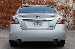 2013 Nissan Altima rear view