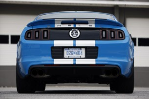 2013 Ford Shelby GT500 rear view