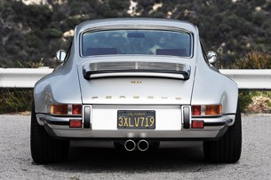 Porsche 911 Restored by Singer rear view
