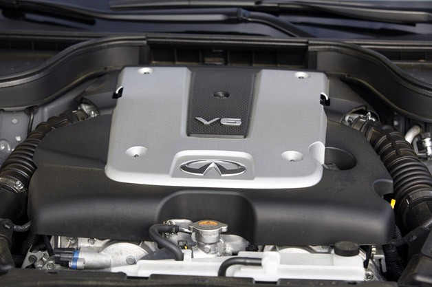 2012 Infiniti G25 engine