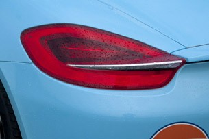 2013 Porsche Boxster S taillight