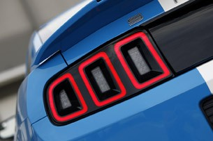 2013 Ford Shelby GT500 taillights