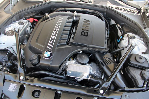 2013 BMW 6 Series Gran Coupe engine